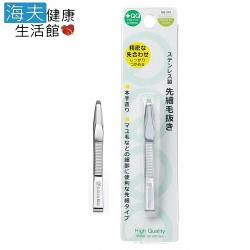海夫 日本綠鐘 QQ 平式細口毛拔 三包裝QQ-501