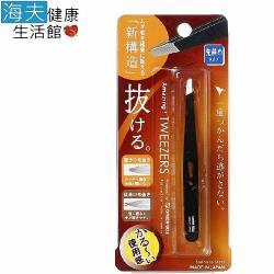 海夫 日本綠鐘 Amazing 斜口毛拔黑色 GT-222