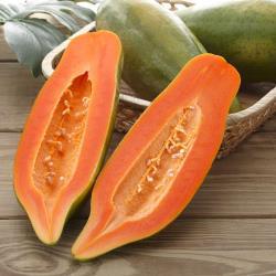 富春山農場 產銷履歷台農2號木瓜3台斤( 3-4顆)