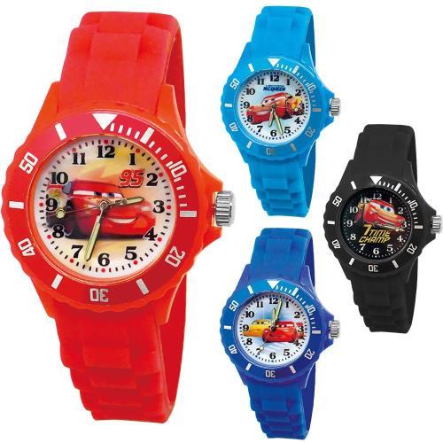 【迪士尼】中型運動彩帶轉圈兒童錶