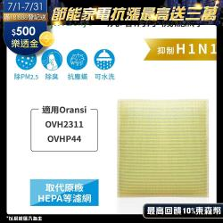 Oransi:OVH2311、OVHP44 超淨化空氣清淨機濾網 Original Life 長效可水洗