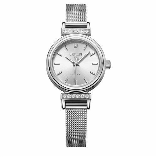 【JULIUS】爵士女伶米蘭錶帶腕錶(二色/22.5mm)
