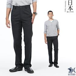 【NST Jeans】日本布料_經典Black暗條紋 休閒長褲(中腰) 390(5602)