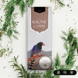 Krone皇雀 印尼曼特寧咖啡豆227g 限量送聖誕派對杯防燙隔熱紙杯(5入)