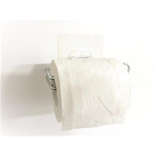 ilf輕鬆黏無痕收納-捲筒衛生紙架(#304不鏽鋼)