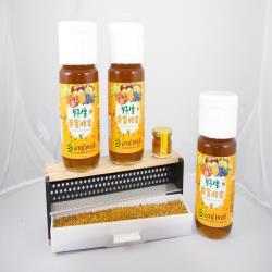 田蜜園 養蜂場新鮮黃金蜂蜜700g *3