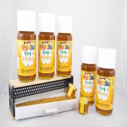 田蜜園 養蜂場新鮮黃金蜂蜜700g *5