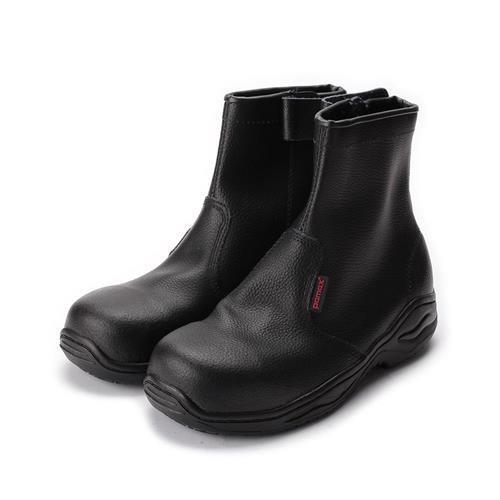 PAMAX長筒拉鍊寬楦鋼頭鞋黑男鞋鞋全家福