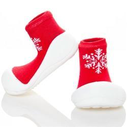 韓國Attipas快樂學步鞋-耶誕紅