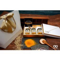 路德貝納 台灣100%紅薑黃粉 50g x 3入(含禮盒包裝)