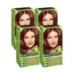 NATURTINT赫本染髮劑 6.7淺巧克力棕色(4盒組)