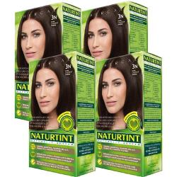 NATURTINT赫本染髮劑 3N深棕黑色(4盒組)