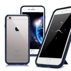 Thunder X iPhone SE2/ iPhone 8 / iPhone 7 / 6s 防摔邊框手機殼-藍