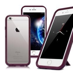 Thunder X iPhone SE2/ iPhone 8 / iPhone 7 / 6s 防摔邊框手機殼-紫