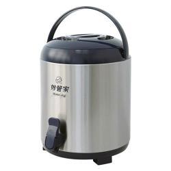 妙管家7.7L不鏽鋼保溫茶桶 HKTB-0800SSC