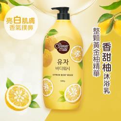 Shower Mate-微風如沐 果香沐浴乳-甜香柚(1200g) 下單送:蔬果淨化潔顏乳 120g