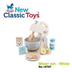 【荷蘭New Classic Toys】木製家家酒攪拌機 - 優雅白 - 10707