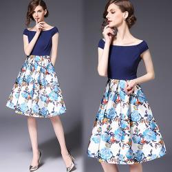 韓國K.W.  韓法設計背心式洋裝