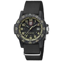 LUMINOX 雷明時SEA TURTLE 0320海龜系列腕錶-卡其/44mm A0333