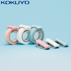 日本KOKUYO紙膠帶切割器T-SM401(大)簡易膠台KARUCUT和紙膠帶切割夾