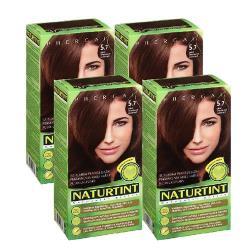 NATURTINT赫本染髮劑 5.7巧克力棕色(4盒組)