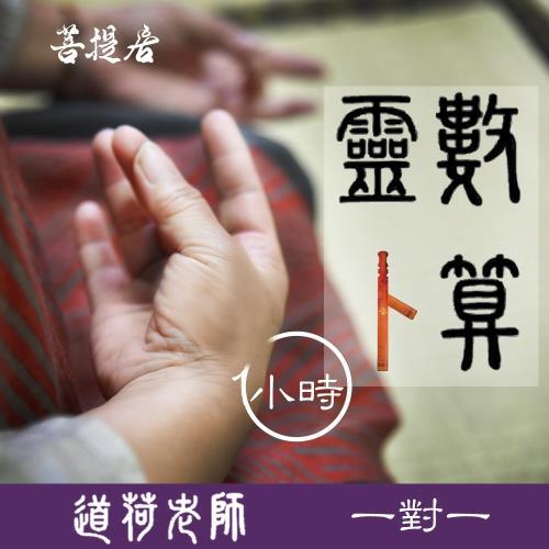 【菩提居】道荷老師靈數卜算(一對一面對面)