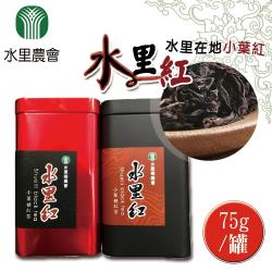 【水里農會】水里紅-紅茶 (75g-罐) x2罐一組