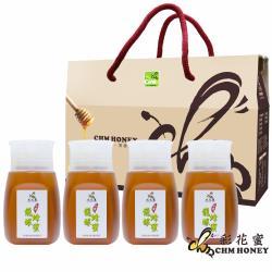 彩花蜜 台灣龍眼蜂蜜350g(4入)