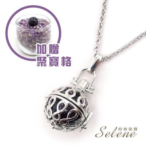 【Selene珠寶】智慧靈性紫水晶發財墜鍊(贈開運聚寶格)/