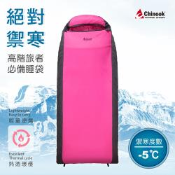 Chinook-負5°C Primaloft 掌中寶信封式睡袋20232(露營睡袋)