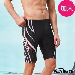 Heatwave熱浪 加大男泳褲 七分馬褲-追浪361(M-2XL)