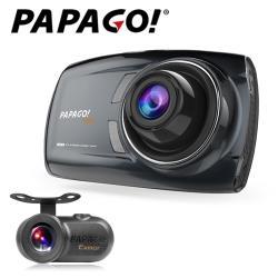 PAPAGO!GoSafe S70G+S1雙鏡頭行車記錄器