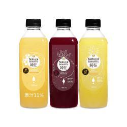 純在 冷壓鮮榨蔬果汁-家庭派對組 (960ml/瓶-共8瓶)