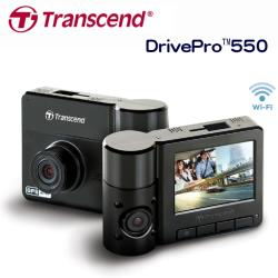 創見DrivePro ™550 Wi-Fi+GPS雙鏡頭行車記錄器