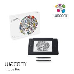 5月登錄贈活動!!!Wacom Intuos Pro Medium 雙功能創意觸控繪圖板 PTH-660/K1-C