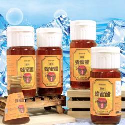 田蜜園養蜂場-健康養身 調理原味蜂蜜醋520毫升4瓶
