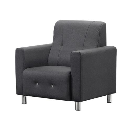 Boden-奧倫貓抓皮沙發單人椅 單人座