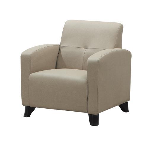 Boden-薩雷貓抓皮沙發單人椅 單人座