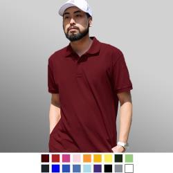 男人幫*情侶可穿/混搭短袖素面POLO衫(P0056)