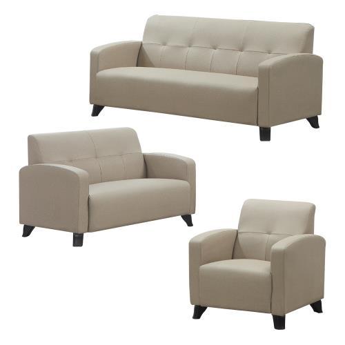 Boden-薩雷貓抓皮沙發椅組合 1+2+3人座