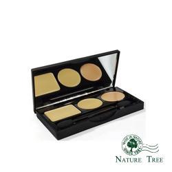 Nature Tree 玩美無暇3色修容遮瑕盤X1