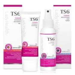 TS6護一生 蜜桃煥白凝膠 45g+私密嫩白化妝水100g
