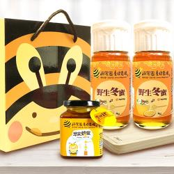 【田蜜園】養蜂場 季節限定台灣冬蜜-禮盒組