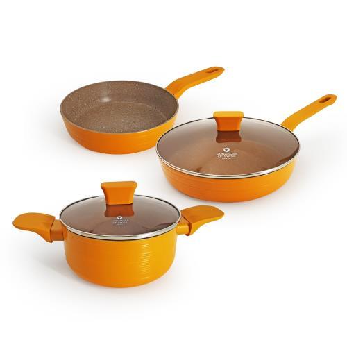 瑞士MONCROSS荷蘭皇家橘限定鍋具組/