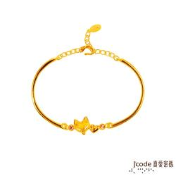 Jcode真愛密碼 愛戀狐仙黃金手環