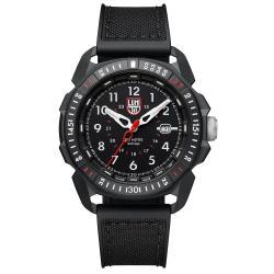 LUMINOX 雷明時 ICE-SAR Arctic 冰島搜救隊聯名腕錶 - 黑x白時標/45mm A1001