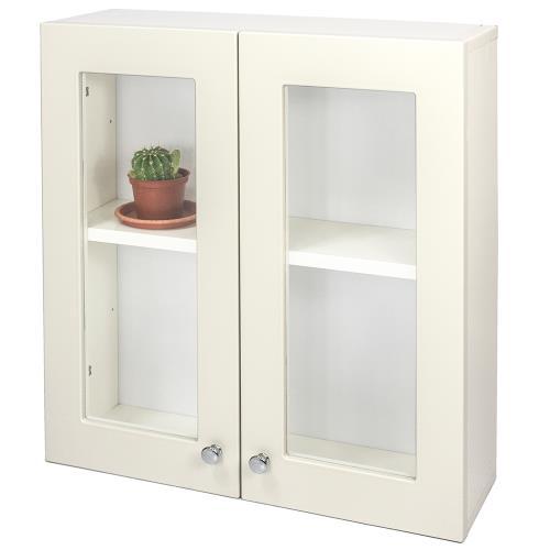 Aaronation - 經典款塑鋼雙開門浴櫃 - GU-C1019W