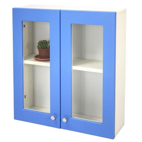 Aaronation - 經典款塑鋼雙開門浴櫃 -GU-C1019B