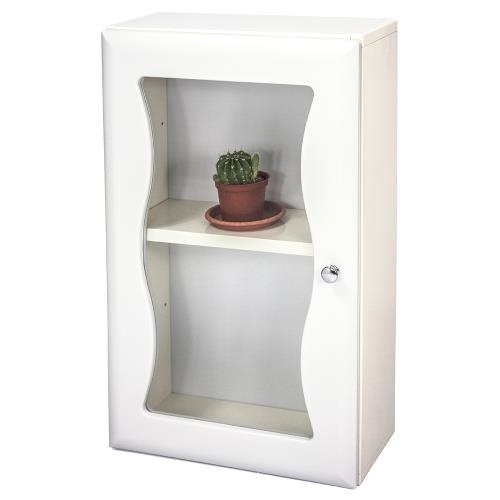 Aaronation - 時尚造型塑鋼單門浴櫃 - GU-C1010
