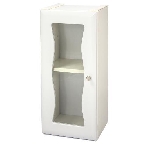 Aaronation - 時尚造型塑鋼單門浴櫃 - GU-C1006